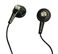 nuevos universales auriculares auriculares de 2.5mm Mini negros para mp4 teléfono celular mp3