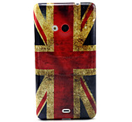 British flag  Pattern TPU Soft Case for Nokia N535
