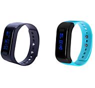 Bluetooth 4.0 multifunzionale in esecuzione impermeabile ip 67 calorie bracelt intelligente contapassi