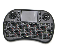 UKB-500-PK Mini 2.4G Wireless Entertainment 92-Key Keyboard with Touchpad / USB Receiver (Russian)