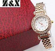 lazer moda relógio de pulso de quartzo do cristal de rocha das mulheres