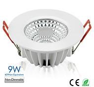 9w 3inch ha condotto pannocchia incasso downlight 650LM 50watt equivalente AC100-240V europa vendita calda