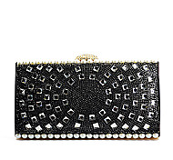 Handbag Crystal/ Rhinestone/Metal Evening Handbags With Crystal/ Rhinestone/Metal