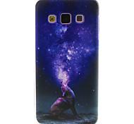 For Samsung Galaxy Case Pattern Case Back Cover Case Cartoon TPU Samsung A5 / A3