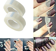 2PCS Nail Tools Manicure Tools French Nail Art Tips Nail Art Adhesive Tape French Nail Tips Guides