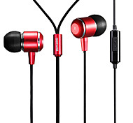 Mykimo MK100 Wire Earphone/in-ear Headphone Metal Multipurpose for iPhone/other phone pad/computer