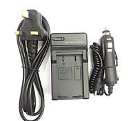 EU/AU/UK Power Cord 8.4V EN-EL1 NP-800 Car Charger for Nikon COOIPIX 4300 4800 / KONOCA MINOLTA DG-5W  DIMAGE A200