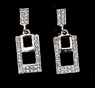 Fashion  New Style Diamond Series 12 Stud Earrings Wedding/Party/Daily/Casual 2pcs