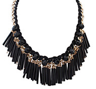 European Style Fashion Wild Tassel Necklace
