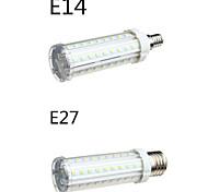Lampadine a pannocchia 58 SMD 2835 T E14 / E26/E27 18 W 1650 LM Bianco caldo / Luce fredda 1 pezzo AC 100-240 V