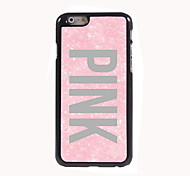 Pink Design Aluminum Hard Case for iPhone 6