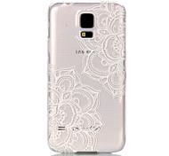 Для Кейс для  Samsung Galaxy Прозрачный Кейс для Задняя крышка Кейс для Мандала PC Samsung S6 edge / S6 / S5 Mini / S5 / S4 Mini / S3 Mini