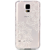 Voor Samsung Galaxy hoesje Transparant hoesje Achterkantje hoesje Mandala PC Samsung S6 edge / S6 / S5 Mini / S5 / S4 Mini / S3 Mini