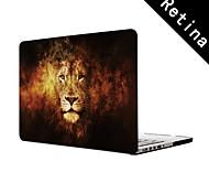 """diseño fresco león funda protectora de cuerpo completo de 13 """"/ 15"""", MacBook Pro con pantalla de retina"""