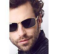 Sunglasses Men's Fashion Flyer Black / Gold / Gray Sunglasses Full-Rim