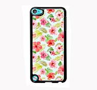 Blooming Red Flower Design Aluminum High Quality Case for iPod Touch 5