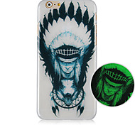 The Indians Pattern Glow In The Dark Cell Phone Case For Iphone5C