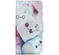 cotton candy cuir PU cas de tout le corps avec protecteur d'écran et d'être ipod touch 5