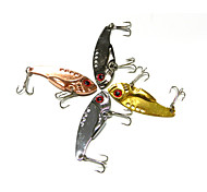 4pcs Hengjia Metal VIB Baits/Vibration  11g   55mm Lures Fishing