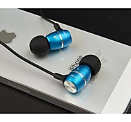 JBMMJ-MJ100 Headphone 3.5mm In Ear Canal Stereo Noise-Cancelling for Media Player/Tablet