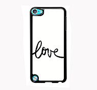 Love Aluminum High Quality Case for iPod Touch 5