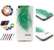 Special Design Novelty TPU Package Includes Stand Anti-dust Plug stylus for iPhone 6
