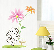 Multifunction DIY PVC Happy Dog Decorative Stickers