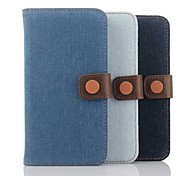Cowboy Grain Leather Cases To Fashion Mobile Phone Sets for HTC M9 (Assorted Colors)