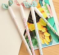 Lovely Lady Bowknot Neutral Pen (Random Color)