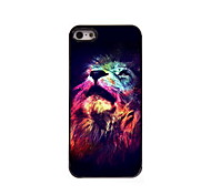The Lion Look Up Design Aluminum High Quality Case for iPhone 5/5S