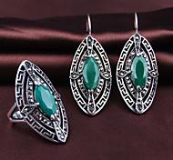 Z&X® Fashion Elegant Rhombus Alloy Jewelry Set Party/Casual 1set