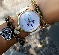 Vintage Women'S Watch Crystal Dreamcatcher Watch Pu Belt Students Watch Jewelry Accessories