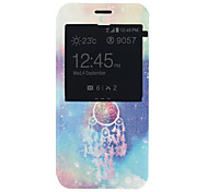 Campanula Pattern PU Material Full Package Phone Case for Samsung Galaxy A8