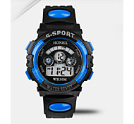 multifunctional waterproof electronic watch student candy