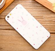 Lovely Rabbit Pattern Hard Back Case for iPhone 6