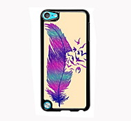 The Feather Design Aluminum High Quality Case for iPod Touch 5
