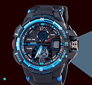 Men's Watches Fashion Sports Chronograph Waterproof Luminous Multi-Functional Electronic Watch Wrist Watch Cool Watch Unique Watch