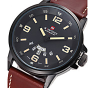 Mens Watches Top Brand Luxury Calendar Alarm Clock Waterproof Watch Wristwatches