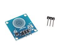 Módulos de sensores de toque yfrobot toque sensor do interruptor interruptor de toque arduino