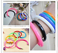 Creative pen Bracelet cartoon pen Bracelet ball-point pen(6PCS Random Color)