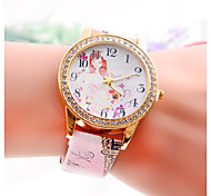 Freeshipping Women's punk Eiffel Tower Diamond Watch Wrist Watch