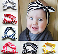 Baby Girls Headbands Bow Stripe Infant Toddler Girl Headband Clips Hairband Hair Band Accessories