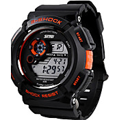 SKMEI® Men's Sporty Watch Digital LCD Display Calendar/Chronograph/Alarm/Water Resistant Cool Watch Unique Watch Fashion Watch
