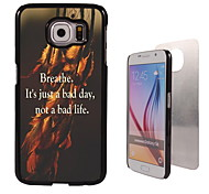 Breathe Design Aluminum High Quality Case for Samsung Galaxy S6 SM-G920F