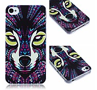 The Wolf Pattern TPU Soft Case for iPhone4/4S