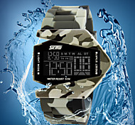 Boy's Waterproof Luminous Multi-function Electronic Watch Student Camo Plane Shape Sports Outdoor Watch(more colors)