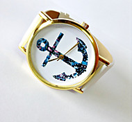 Anchor Watch Nautical watch Vintage Style Leather Watch  Women Watches  Unisex Watch  Boyfriend Watch