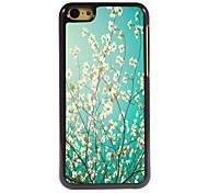 Flower Design Aluminum High Quality Case for iPhone 5C