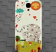 сверла и лес слон шаблон шт задняя крышка чехол для Samsung Galaxy S4 / 9500
