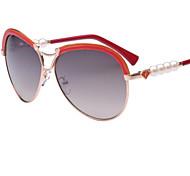 Sunglasses Women's Elegant / Modern / Fashion Oversized Coffee / Orange / Dark Red / Purple / Blue Sunglasses Full-Rim